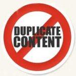 Использование неуникального контента для продвижения сайта